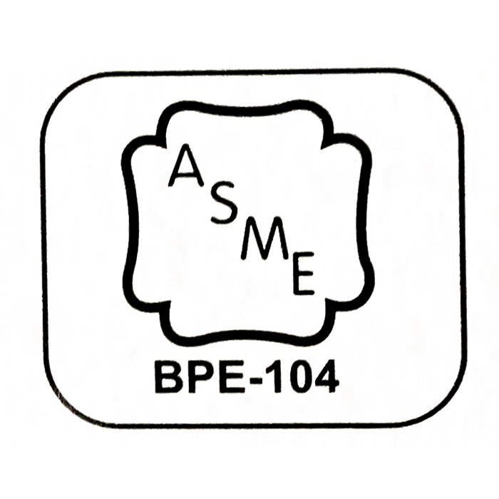 certification asme bpe